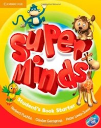 Papel Super Minds Starter Student'S Book With Dvd-Rom