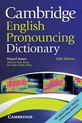 Papel Cambridge English Pronouncing Dictionary 18Th Ed