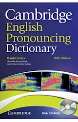 Papel Cambridge English Pronouncing Dictionary with CD-ROM (18th Ed.)