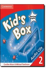 Papel Kid's Box American English Level 2 Audio CDs (4)