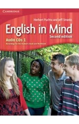 Papel English in Mind Second Edition Level 1 Audio CDs (3)