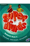 Papel SUPER MINDS 3 STUDENT'S BOOK (C/DVD ROM)