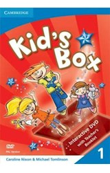 Papel Kid's Box Level 1 Interactive DVD with Teacher's Booklet