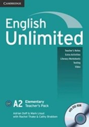 Papel English Unlimited Elementary Teacher'S Pack (Teacher'S Book With Dvd-Rom)
