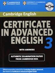 Papel Cambridge Certifiate In Advanced English 3