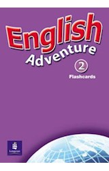 Papel ENGLISH ADVENTURE 2 FLASHCARDS