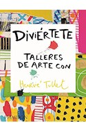Papel DIVIERTETE TALLERES DE ARTE CON HERVE TULLET (CARTONE)