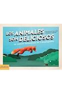 Papel ANIMALES SON DELICIOSOS LA CADENA ALIMENTICIA EN 3 DESPLEGABLES (CARTONE) (CAJA)