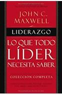 Papel LIDERAZGO LO QUE TODO LIDER NECESITA SABER (COLECCION COMPLETA) (CARTONE)