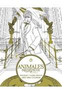 Papel ANIMALES FANTASTICOS Y DONDE ENCONTRARLOS PERSONAJES Y LUGARES MAGICOS LIBRO PARA COLOREAR (RUSTICA)