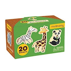 Papel Zoo Animals Box Of Magnets