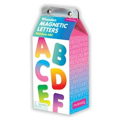 Papel Wooden Magnetic Letters - Rainbow Abc