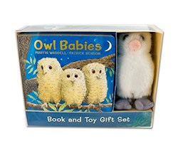 Papel Owl Babies - Book And Toy Gift Set