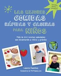 Libro Las Mejores Comidas Rapidas Y Caseras Para Niños