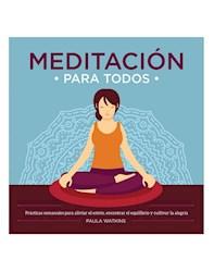 Libro Meditacion Para Todos