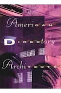 Papel AMERICAN DIRECTORY ARCHITECTS THE