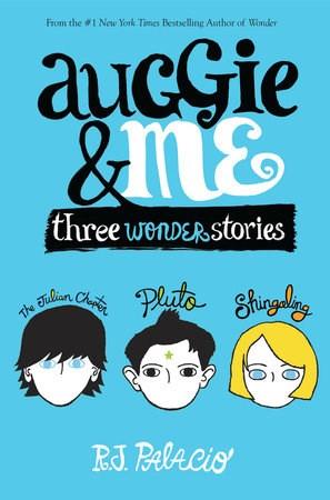 Papel Auggie And Me: Three Wonder Stories