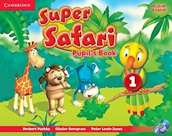 Papel Super Safari Level 1 Pupil'S Book With Dvd-Rom