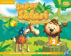 Papel Super Safari Level 2 Pupil'S Book With Dvd-Rom