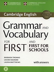 Papel Grammar And Vocabulary For First And First For Schools With Answers And Audio