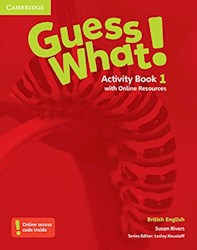 Papel Guess What! 1 Activity Book (British)