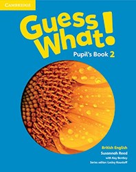 Papel Guess What! 2 Pupil'S Book (British)