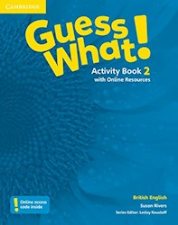 Papel Guess What! 2 Workbook (British)