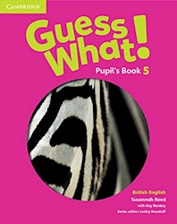 Papel Guess What! 5 Pupil'S Book (British)