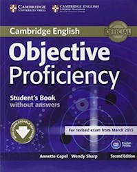 Papel Objective Proficiency Student'S Book Without Answers With Downloadable Software