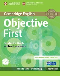 Papel Objective First Student'S Book Without Answers With Cd-Rom