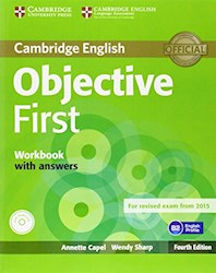 Papel Objective First Workbook With Answers With Audio Cd