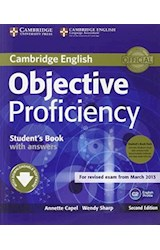 Papel Objective Proficiency Second Ed. Student's Book Pack (with key + Audio cds)