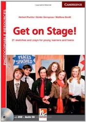 Papel Get On Stage! Teacher'S Book With Dvd And Audio Cd