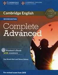Papel Complete Advanced Student'S Book With Answers With Cd-Rom