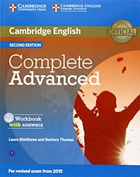 Papel Complete Advanced Second Edition Workbook With Answers With Audio Cd