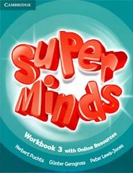 Libro Super Minds 3 - Workbook Pack With Grammar Booklet