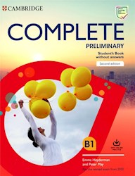 Papel Complete (Second Edition) Preliminary Student'S Book