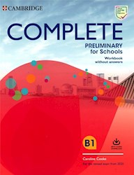 Libro Complete Preliminary For Schools  Workbook With Audio