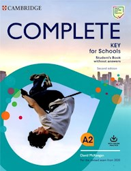 Papel Complete (Second Edition) Key For Schools A2 Student'S Book