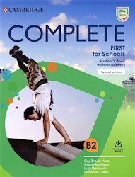 Papel Complete (Second Edition) First For Schools Student'S Book