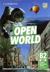 Papel Open World B2 First Student'S Book