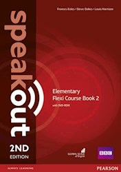 Papel Speakout 2Nd Ed Elementary Flexi Course Book 2