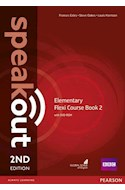 Papel SPEAKOUT ELEMENTARY FLEXI COURSE BOOK 2 (STUDENT'S BOOK + WORKBOOK) (WITH DVD-ROM) (2ND EDITION)