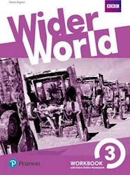 Papel Wider World 3 Workbook With Extra Online Homework Pack