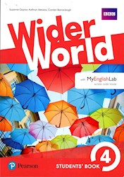 Papel Wider World 4 Student'S Book With Myenglish Lab