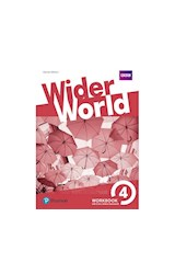 Papel Wider World 4 Workbook With Extra Online Homework Pack