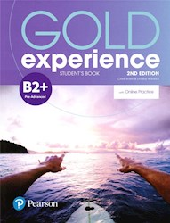 Papel Gold Experience 2Nd Edition B2+ Student'S Book With Online Practice