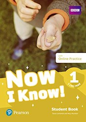 Papel Now I Know 1 Student'S Book + Online Practice - I Can Read