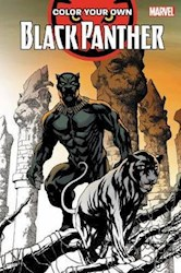 Libro Color Your Own Black Panther
