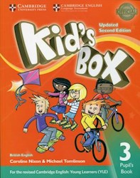 Papel Kid'S Box Updated Second Ed. 3 Pupil'S Book